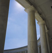 Columns at an amphitheater von Panoramic Images