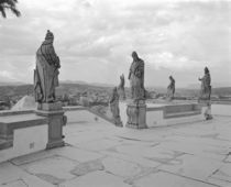 Statues on the pedestal von Panoramic Images