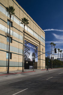Art museum Los Angeles County Museum of Art Wilshire Boulevard by Panoramic Images