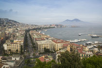 High angle view of a city, Naples, Campania, Italy von Panoramic Images