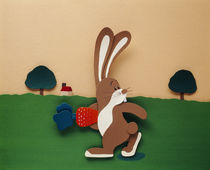 Illustration rabbit by Panoramic Images