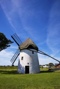 Thatched Windmill, Tacumshane, County Wexford, Ireland by Panoramic Images