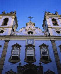 Low angle view of a church, Largo do Pelourinho, Pelourinho, Salvador, Brazil by Panoramic Images