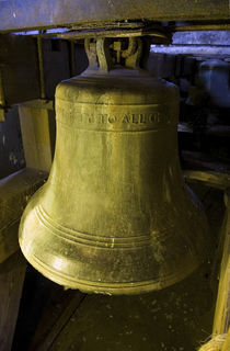 One of the Eight Shandon Bells, St Anne's Church, Shandon, Cork City, Ireland von Panoramic Images
