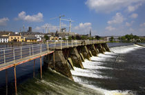 Salmon Leap Weir, River Shannon at Athlone, County Roscommon, Ireland by Panoramic Images