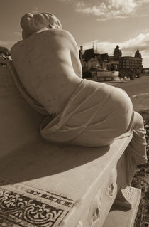 Close-up of a statue, Hotel Casino Carrasco, Carrasco, Montevideo, Uruguay by Panoramic Images