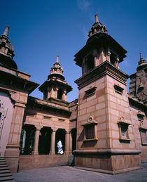 Temple,Varanasi, Uttar Pradesh, India von Panoramic Images