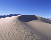 Rippled pattern on sand, Death Valley, California, USA by Panoramic Images
