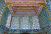 Interiors of a palace, Topkapi Palace, Istanbul, Turkey von Panoramic Images