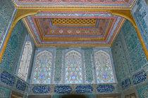 Interiors of a palace, Topkapi Palace, Istanbul, Turkey von Panoramic Images