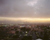 USA, Arizona, Phoenix, Dust storm in Phoenix by Panoramic Images
