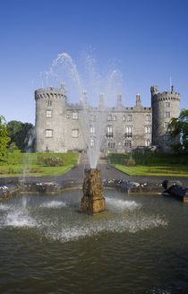 Kilkenny Castle - rebuilt in the 19th Century von Panoramic Images