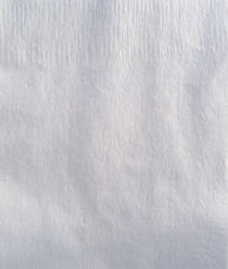 Textured white fabric background by Panoramic Images