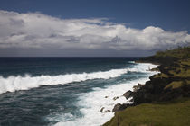 Waves in the ocean, Cap Mechant, Basse Vallee, St. Philippe, Reunion Island by Panoramic Images