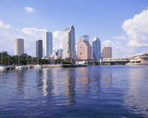 USA, Florida, Tampa, Office buildings in Tampa by Panoramic Images