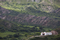 Church on a mountain, San Fernando De Escoipe, Cachi, Salta Province, Argentina by Panoramic Images
