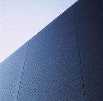 Low angle view of a memorial, Vietnam Veterans Memorial, Washington DC, USA by Panoramic Images