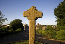 High Cross at, Downpatrick Cathedral, Downpatrick, County Down, Ireland by Panoramic Images