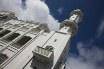 Low angle view of a mosque, Jummah Masjid, Port Louis, Mauritius by Panoramic Images