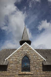 Low angle view of a chapel von Panoramic Images