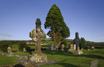 8th Century, High Cross in Ahenny Graveyard, County Tipperary, Ireland by Panoramic Images