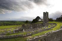 Remains of the Church on St Patrick's Hill, Slane, Co Meath, Ireland by Panoramic Images
