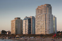 Buildings in a city by Panoramic Images