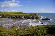 Stradbally Strand, The Copper Coast, County Waterford, Ireland by Panoramic Images