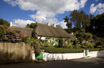 Thatched Cottage, Stradbally, Copper Coast, County Waterford, Ireland von Panoramic Images