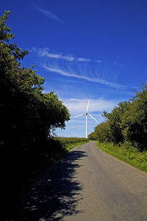 Windfarm, Bridgetown, County Wexford, Ireland von Panoramic Images