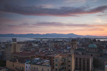 Church in a city, Chiesa di Sant'Anna, Stampace, Cagliari, Sardinia, Italy by Panoramic Images