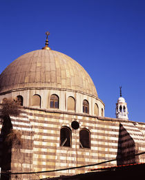 Low angle view of the dome of a mosque, Syria von Panoramic Images
