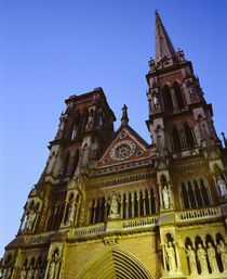 Low angle view of a cathedral, Iglesia De Los Capuchinos, Cordoba, Argentina by Panoramic Images