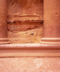 Columns of a building, Petra, Jordan by Panoramic Images