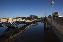 Two bridges across a river by Panoramic Images