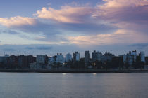 Buildings at the waterfront, Montevideo, Uruguay 2010 by Panoramic Images