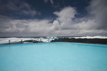 Saltwater swimming pool at the coast von Panoramic Images