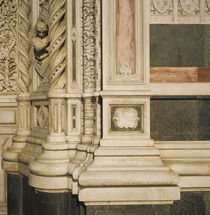 Detail of a cathedral, Duomo Santa Maria Del Fiore, Florence, Italy von Panoramic Images