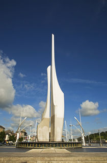 Contemporary Sculpture, Millennium Plaza, Quays, County Waterford, Ireland by Panoramic Images