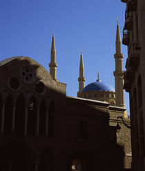 Church and a mosque side by side von Panoramic Images