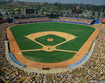 Dodger Stadium by Panoramic Images
