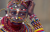 Portrait of a Samburu maiden by Panoramic Images