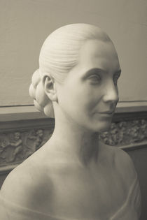 Statue of Eva Duarte Peron in a museum by Panoramic Images