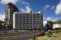 Buildings in a downtown district, Port Louis, Mauritius von Panoramic Images
