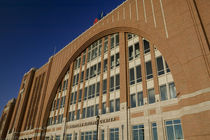 Low angle view of a stadium, American Airlines Center, Dallas, Texas, USA by Panoramic Images