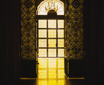 Window of a church, Sao Paulo, Brazil by Panoramic Images