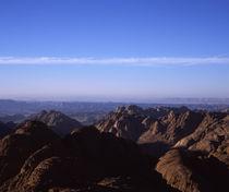 High angle view of a mountain range, Mt Sinai, Sinai Peninsula, Egypt by Panoramic Images