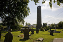 6th Century Round Tower by Panoramic Images