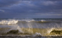 Stormy Seas at Ballydowane Cove, Copper Coast, County Waterford, Ireland von Panoramic Images