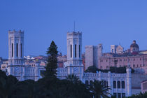 Building in a city, Palazzo Comunale, Cagliari, Sardinia, Italy by Panoramic Images